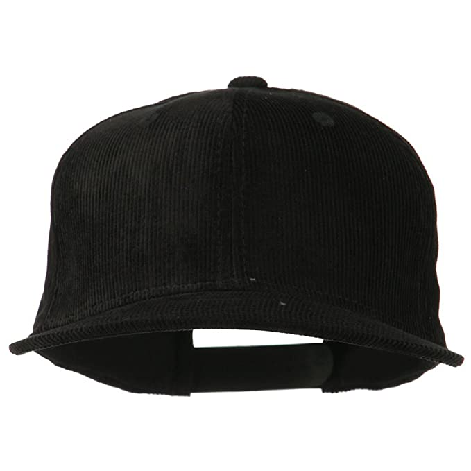 Corduroy Vintage Snapback Cap - Black OSFM at Amazon Men s Clothing ... 06f738b2e3d