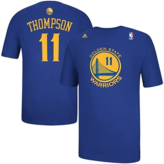 Klay Thompson Golden State Guerreros Jersey Nombre y número Camiseta, Golden State Warriors, XXL, Azul: Amazon.es: Deportes y aire libre