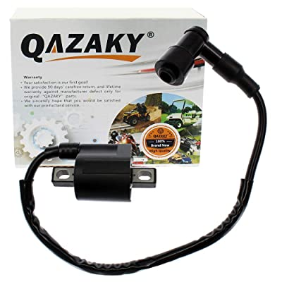 QAZAKY Replacement for Ignition Coil Yamaha Bear Tracker 250 Trail Boss 330 YFM350 Warrior Big Bear Raptor TTR125 ATC185S ATC200 ATC200ES ATC200S: Automotive [5Bkhe2010633]