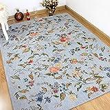 American Rural Pastoral Carpet Bedside Bedding Carpet ( Size : 200x250cm )