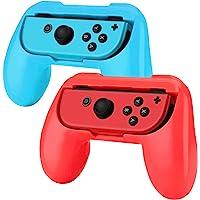 Hand Grips para Nintendo Switch Joy-Con Alomia, Nuevas fundas para Joy Con. Empuñaduras para mandos Joy-con, Diseño…
