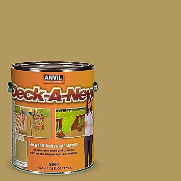Anvil Deck A New Rejuvenates Wood Concrete Decks Premium Textured