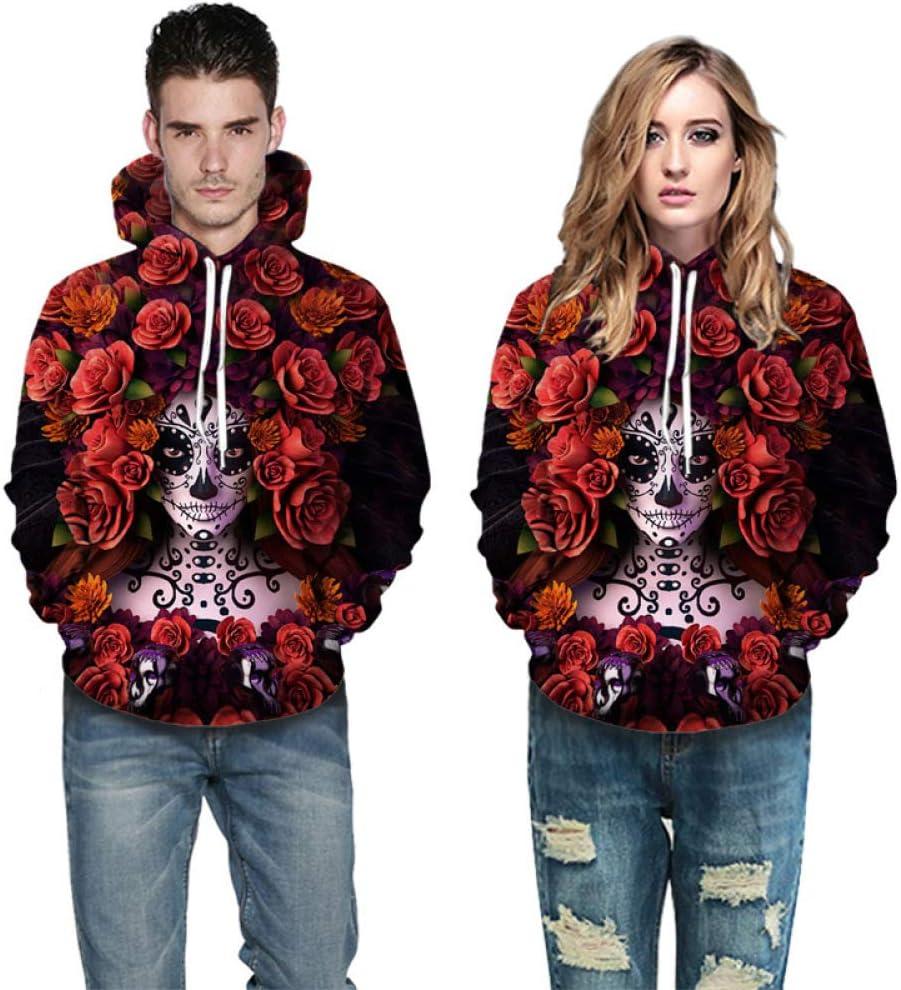 Suéter Deportivo Estampado de Halloween Suéter 3D Sudadera con ...