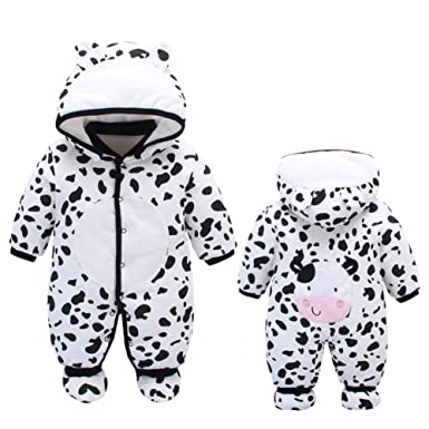 3ccce2fc3 Fairy Baby Newborn Unisex Cute Romper Outwear Winter Thick Snowsuit ...