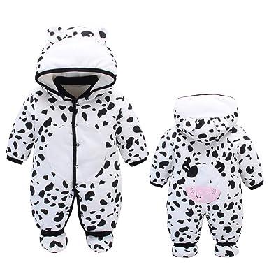 3ccce2fc3 Fairy Baby Newborn Unisex Cute Romper Outwear Winter Thick Snowsuit ...