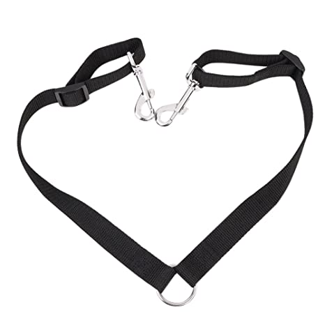 Amazon Com Htkj No Tangle Dog Leash Coupler Dual Double Dog