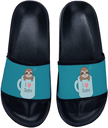 New Youth Girls Slide Sandal Molded Footbed Long Lasting Good Quality  Size 2/& 3