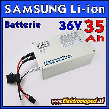 FREAKYSCOOTER 36 V 35 Ah Samsung 35E batería de Litio - Ion ...