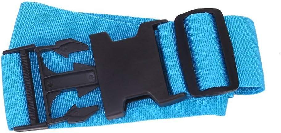 Ceinture de Bagages Gleader Sangle de Bagages r/églable Sangle demballage Durable pour Valise pour Voyage par TheBigThumb Bleu fonc/é