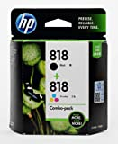 HP Cartridge 818 Black & Color Ink Combo Pack