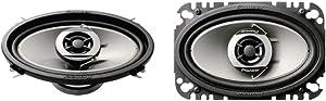 Pioneer TS-G4643R 4-Inch X 6-Inch 2-Way Speakers