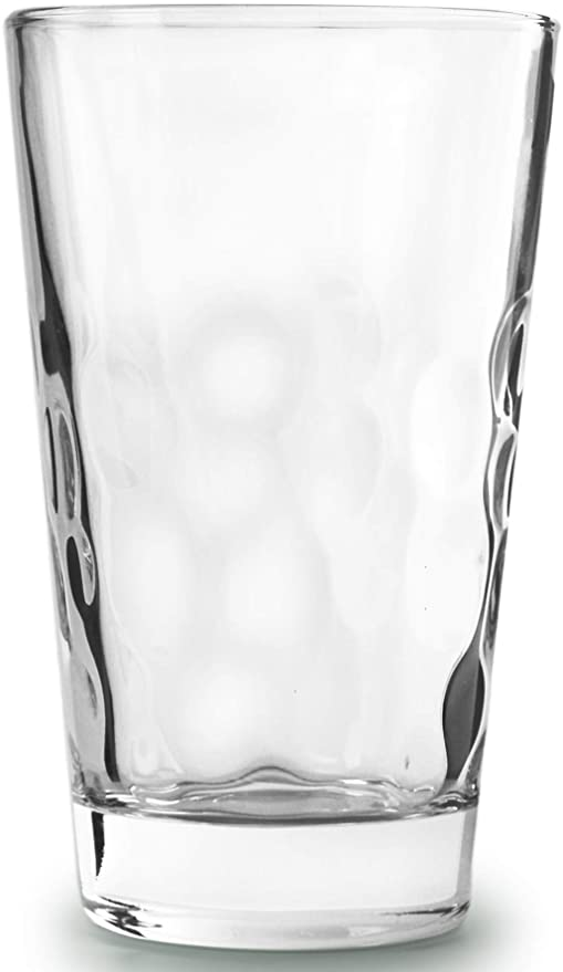 Circleware 45050 Coronado Heavy Base Highball Drinking Glasses Set of 4  Beverage Cups, Home Kitchen Tumbler Entertainment for Water, Juice, Milk,  ...