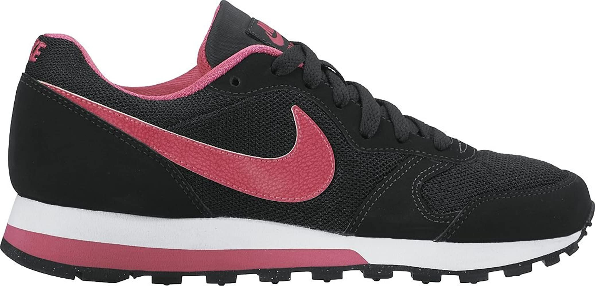 Nike MD Runner 2 (GS), Zapatillas para Niñas, Negro (Black/Vivid ...