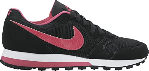 Nike MD Runner 2 (GS), Zapatillas para Niñas, Negro (Black/Vivid Pink White), 38 1/2 EU: Amazon.es: Zapatos y complementos