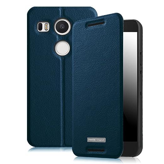 8 opinioni per Fintie Custodia LG Google Nexus 5X- Slim Fit PU Cuoio Protettiva Flip Cover Case