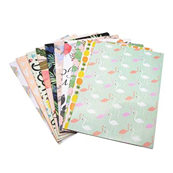 Amazon com: Gift Wrapping Paper Sheets Flower Bouquet Gift
