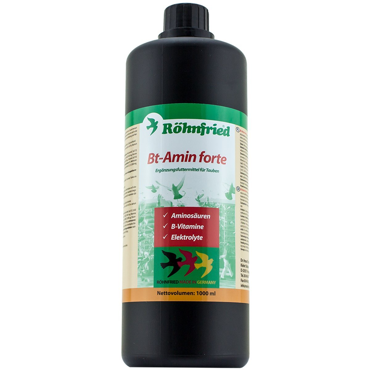Rohnfried BT-Amin Forte 1 liter (contains high doses of amino ...