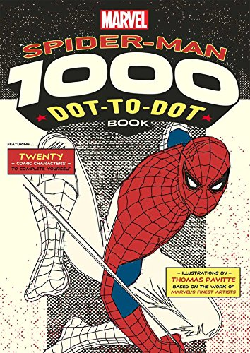 Marvel: Spider-Man 1000 Dot-to-Dot Book