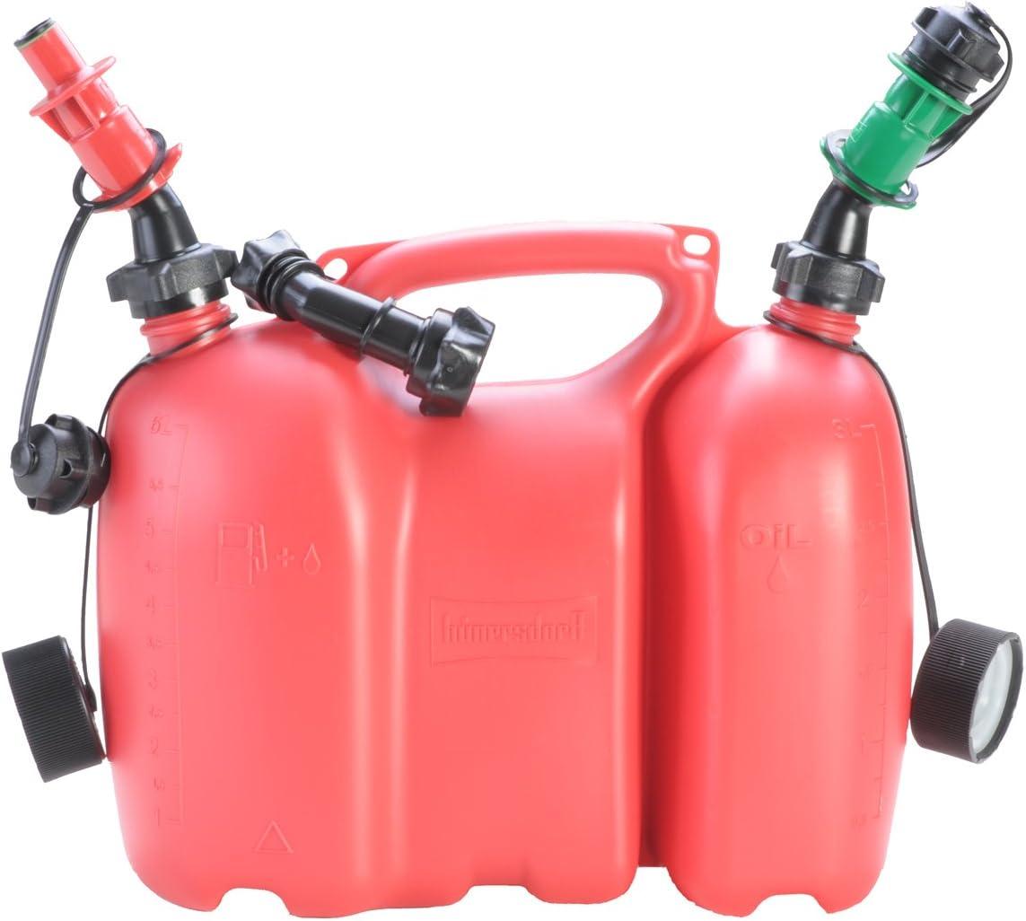 Sicherheits-Einfüllsystem Stutzen Kombikanister Doppelkanister Ausgießer Benzin