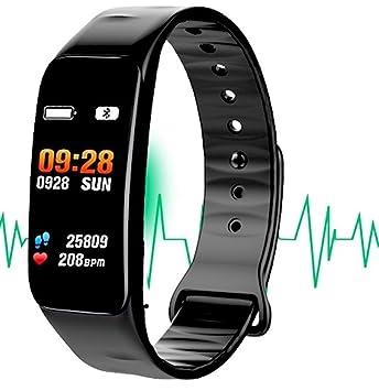 3302bf7872 多機能スマートブレスレット 心拍計 血圧計 スマートブレスレット 防水 歩数計 活動量計