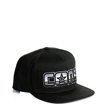 9bd015bbc Converse Cons Black CONS Snapback Twill Cap: Amazon.co.uk: Clothing