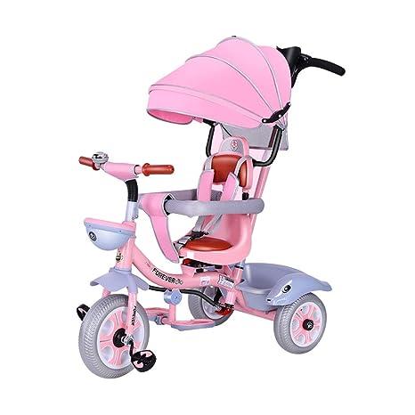 4-en-1 Rueda de plástico para Carro de bebé de 3 Ruedas para