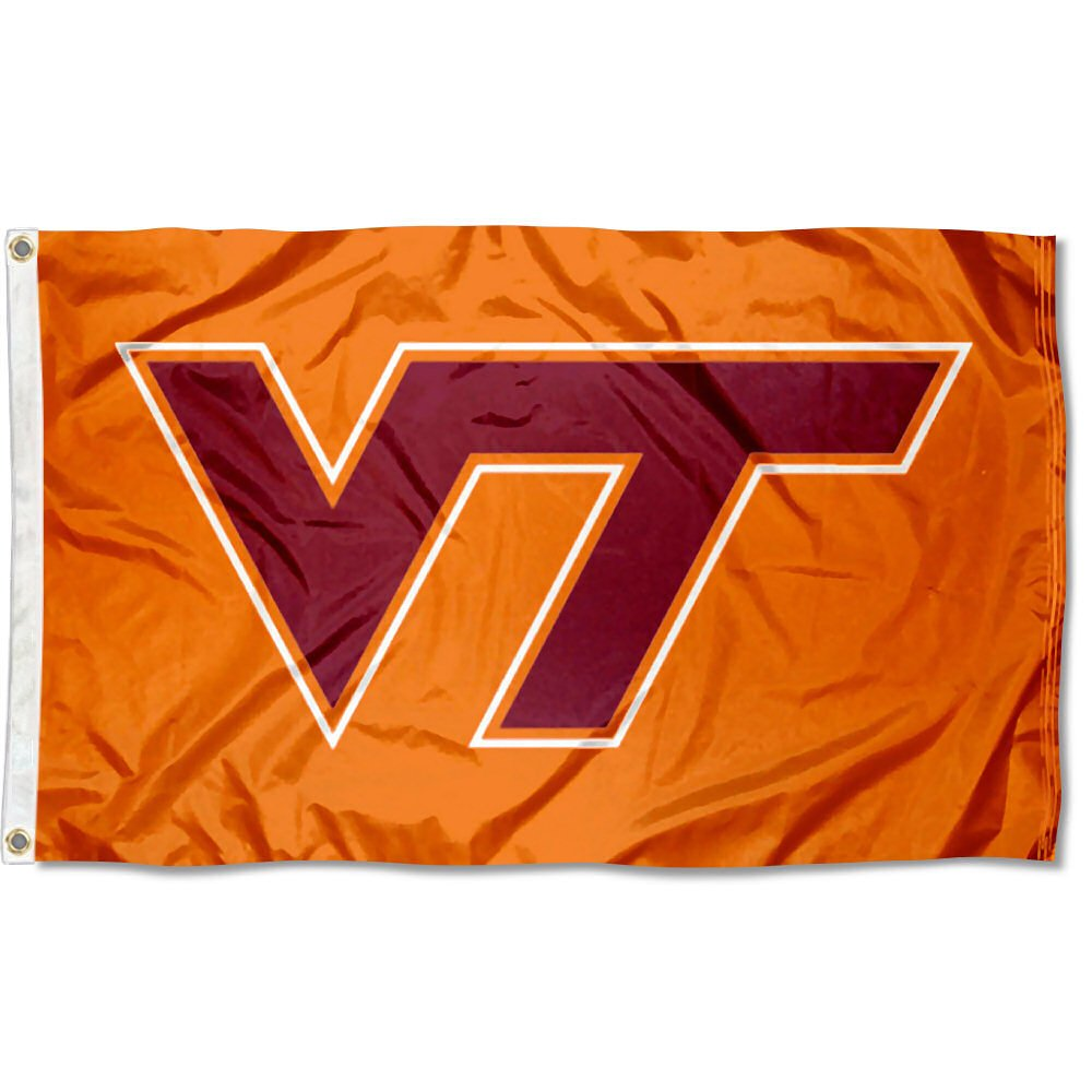 Virginia Tech Hokies VA TECH Flag