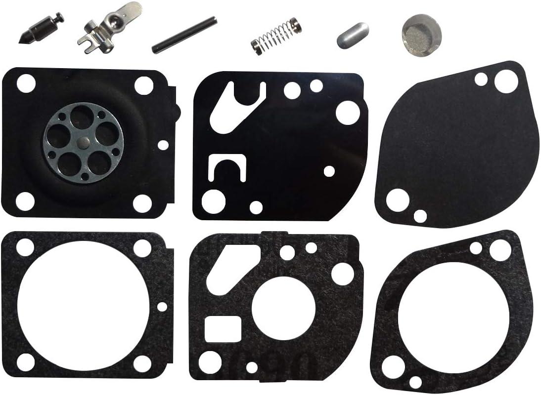Lot of 2 New 5207975 CARBURETOR Kits For ZAMA C1Q HFL500X et MFL500X RB-70