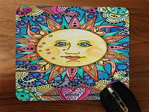 Price comparison product image Solstice Sun Bright and Colorful Desktop Office Silicone Mouse Pad