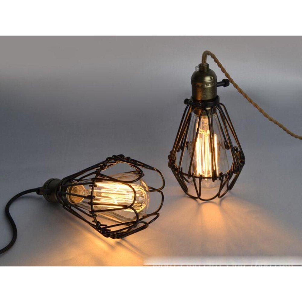 Lámpara del techo de la vendimia, luz de cena industrial ...