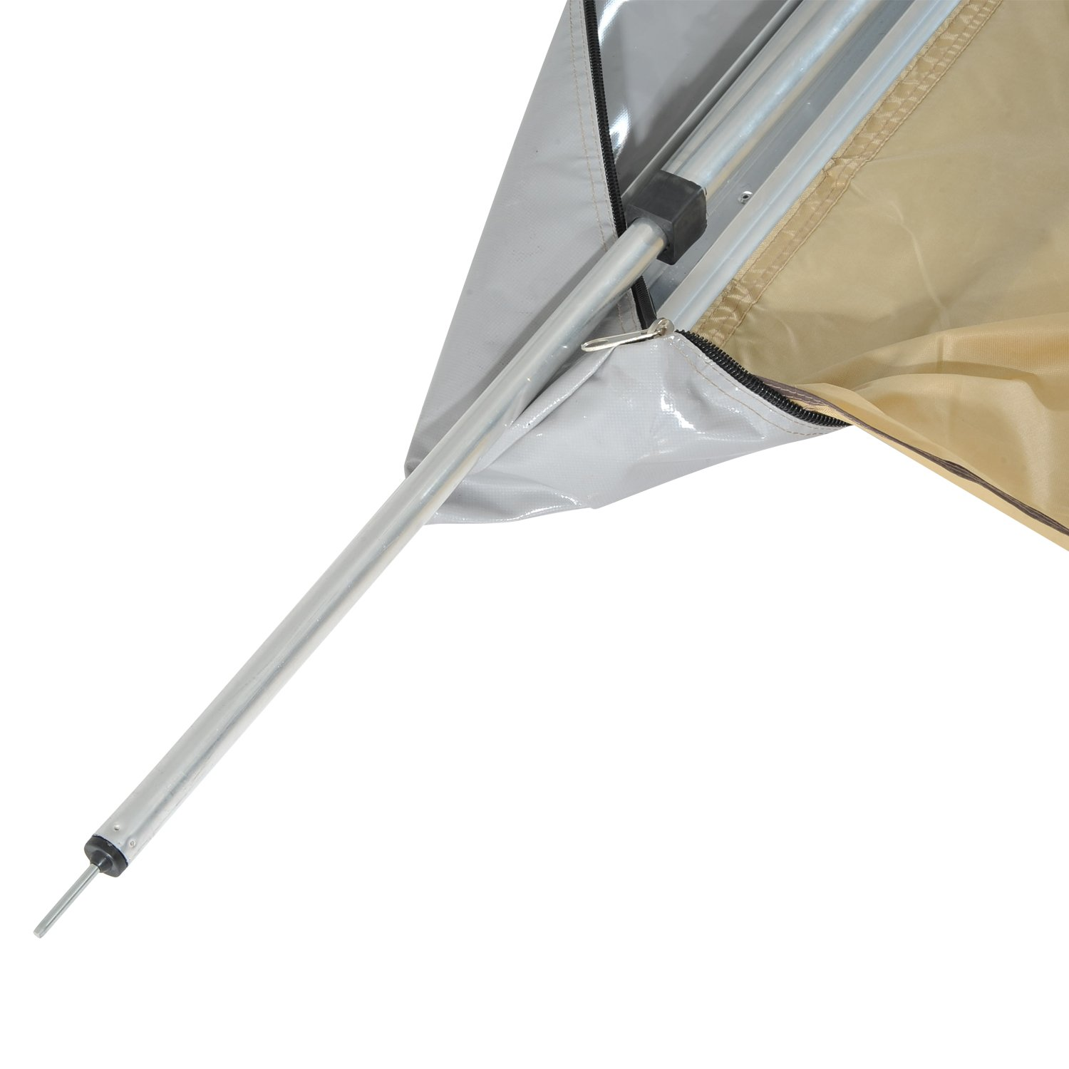 canopy awning drop shelter arm sunshade outdoor manual living outsunny retractable door window