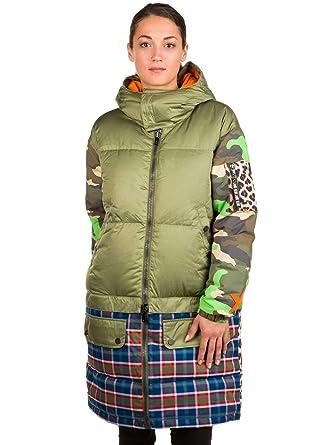 Adidas Burton Lamb Buzzcut Down Olvine Woodcm Riotp-Green-S