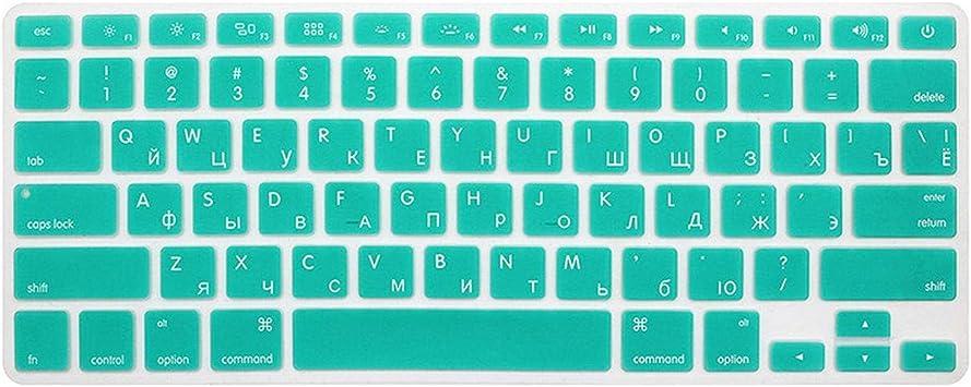 10 colores EE.UU. Protector de teclado ruso para MacBook Air ...