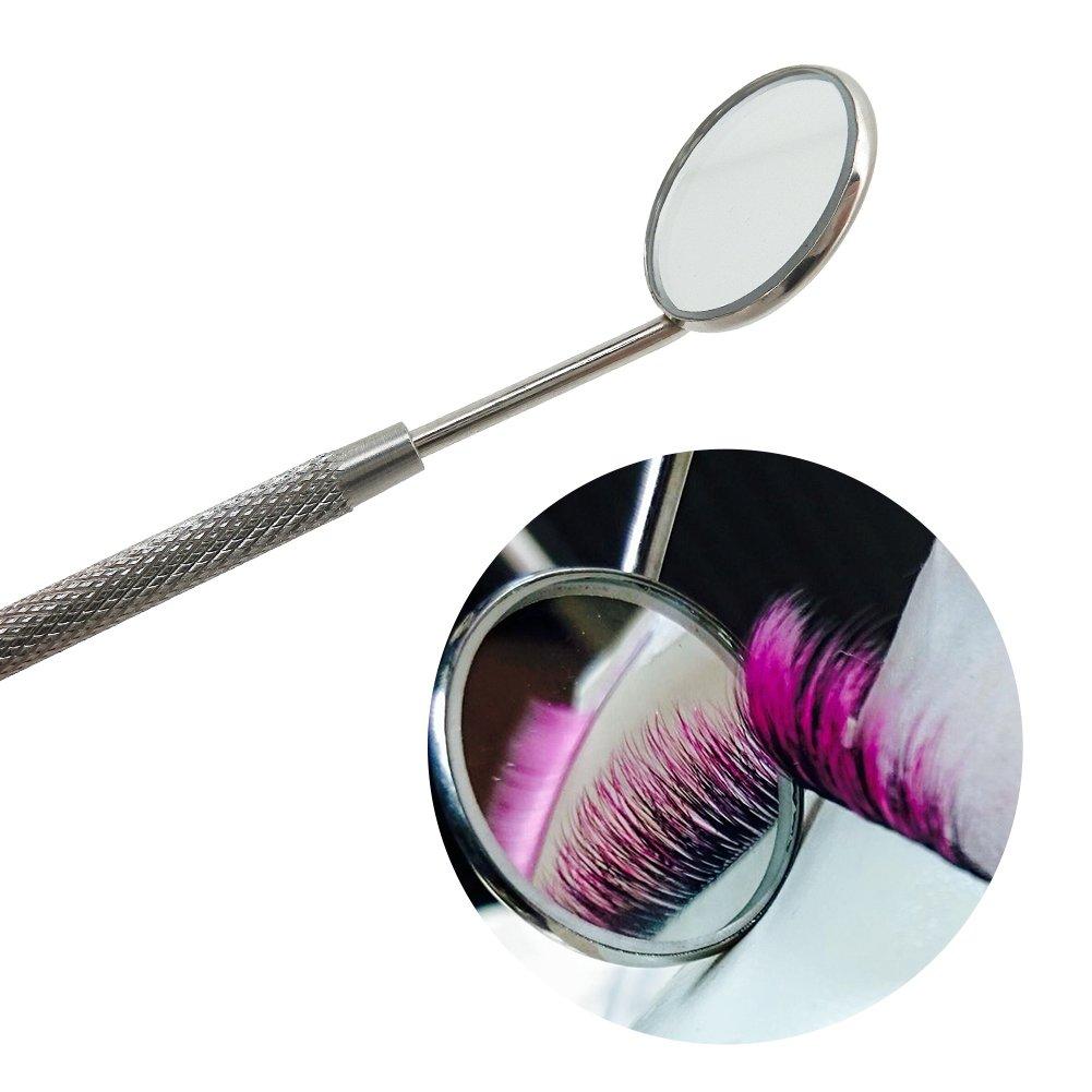 BEYELIAN Makeup Mirror for Eyelash Extensions Dental Tool Inspect Instrument : Beauty