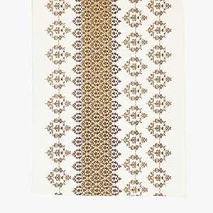 Camino de mesa Glendale champaign 45 x 150 cm