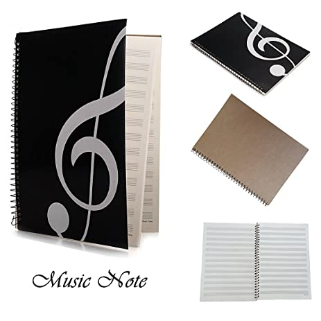 Music Staff Paper OPOCC Blank Sheet Music Composition