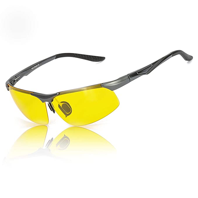 Werksverkauf UK Verfügbarkeit Einzelhandelspreise HD Nachtsichtbrille für Herren Autofahren Gelben ...