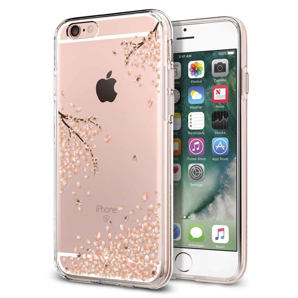 Funda Spigen iPhone 6s [Blossom] Liquid Crystal