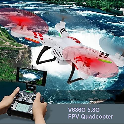 WLtoys Drone V686G 5.8G Real Time Transmission FPV RC Quadcopter Helicopter With 2MP Camera