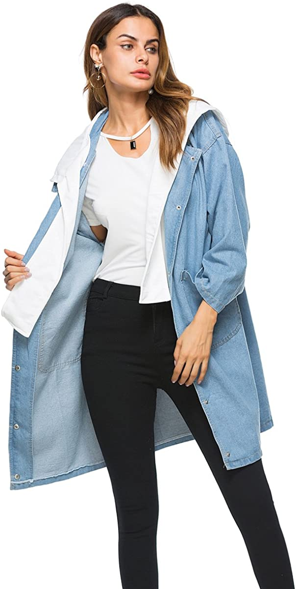 loose plus size casual cowboy Down Outerwear Coats