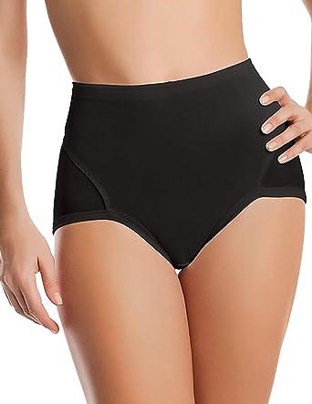 Cotton High Waist Postpartum Control Body Abdomen Shaper  Woman Underwear Pantie