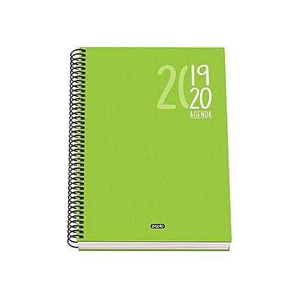 Agenda Escolar Sigma (S/V) - Dohe - A5 - Verde: Amazon.es ...