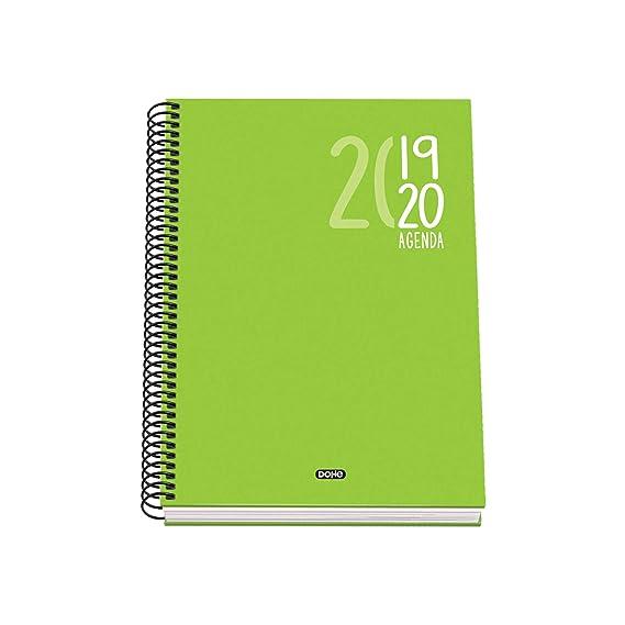 Agenda Escolar Sigma (2DP) - Dohe - A5 - Verde: Amazon.es ...