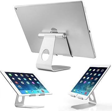TecHERE tabstand Plus – Soporte de aluminio de mesa para tablet PC ...