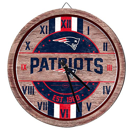 FOCO NFL Green Bay Packers Team Logo Wood Barrel Wall ClockTeam Logo Wood Barrel Wall Clock, Team Color, One Size