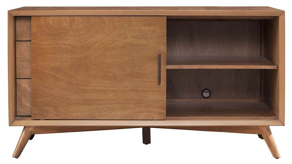 Amazoncom Alpine Furniture Flynn Mid Century Modern Tv Console 50