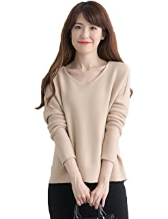 Xiouli Womens Cashmere Cowl Neck Sweater Keep warm wool sweater 9915JH Ginger