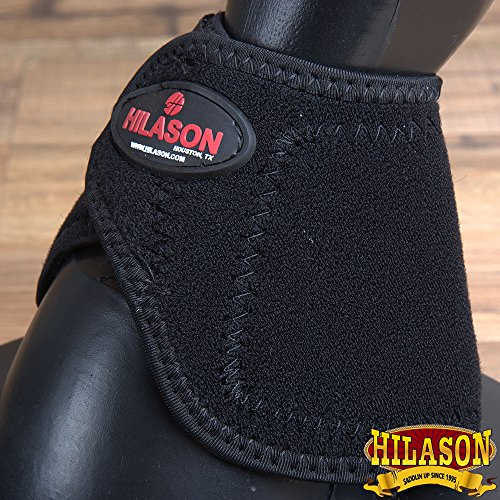 (HILASON Western Horse Leg Protection NO Turn Bell Boots Pair)