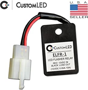 Custom LED Electronic LED Flasher Relay for LED Blinkers on Motorcycles - ELFR-1