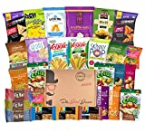 Each Non-GMO and Natural Healthy Snacks Care Package (28 Count) Includes:    (1) 1.5 oz Sahale Snacks Pomegranate Vanilla Cashews  (1) 1.5 oz Sahale Snacks Berry Macaroon Almond Trail Mix  (1) 1.2 oz Kind Bar Healthy Grains Oats & Honey with Toas...